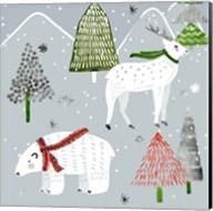 Stars & Snowflakes I Fine-Art Print