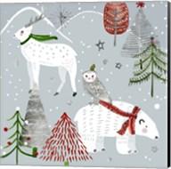 Stars & Snowflakes III Fine-Art Print