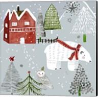 Stars & Snowflakes IV Fine-Art Print