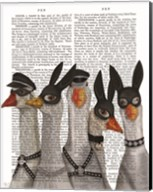 Geese Guys Book Print Fine-Art Print