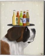 St Bernard Beer Lover Fine-Art Print