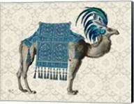 Niraj Camel, Blue Fine-Art Print