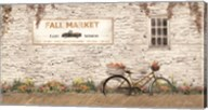 Fall Market with Bike Fine-Art Print