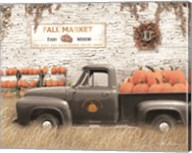 Fall Pumpkin Market Fine-Art Print
