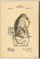 Monkey in Bowl Fine-Art Print