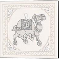 Winter Caravan Camel Fine-Art Print