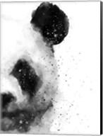 Panda At Attention Fine-Art Print