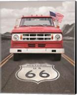 Dodge on Route 66 Fine-Art Print