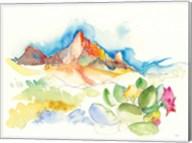 Desert Mountains Fine-Art Print