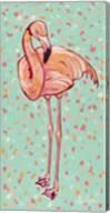 Flamingo Panel I Fine-Art Print