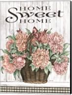 Home Sweet Home Peonies Fine-Art Print