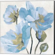 Azure Peony I Fine-Art Print