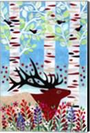 Forest Creatures I Fine-Art Print