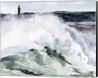 Lighthouse Waves I Fine-Art Print