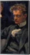 The Symposium, (Detail: Jean Sibelius), 1894 Fine-Art Print