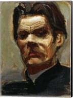 Portrait of the Author Maxim Gorky (1868-1939), 1906 Fine-Art Print