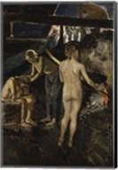 In the Sauna Fine-Art Print