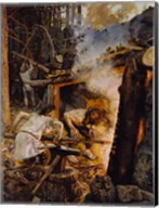 The Forging of the Sampo, 1893 Fine-Art Print