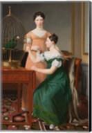 Mendel Levin Nathanson's Elder Daughters, Bella and Hanna, 1820 Fine-Art Print