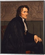 Portrait of the Sculptor Bertel Thorvaldsen (1770-1844), 1838 Fine-Art Print