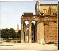View of the Via Sacra, Rome, 1814 Fine-Art Print