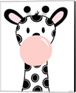 Black Giraffe Fine-Art Print