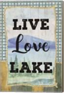 Love, Love, Lake Fine-Art Print