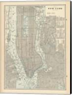 New York City Map Fine-Art Print