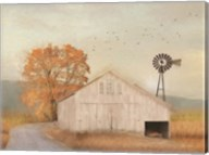 Fall Barn in Muir Fine-Art Print