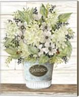 Jardin Galvanized Bucket Fine-Art Print