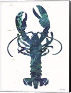 Bright Lobster Blue Fine-Art Print