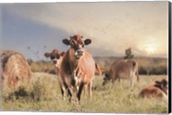 Cow Photobomb Fine-Art Print
