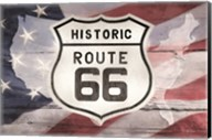 Patriotic Route 66 Fine-Art Print