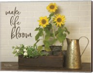 Make Life Bloom Fine-Art Print