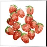 Strawberry Picking I Fine-Art Print
