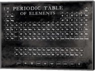 Periodic Table Fine-Art Print