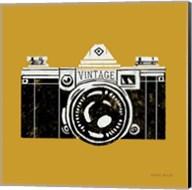 Vintage Camera Yellow Fine-Art Print