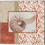 Coral Branch I Fine-Art Print