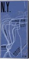 N.Y. Grid Panel Fine-Art Print