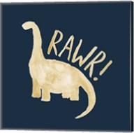 Dinosaur RAWR Fine-Art Print