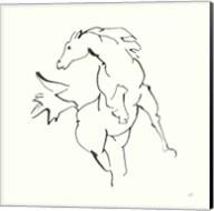 Line Horse VIII Fine-Art Print