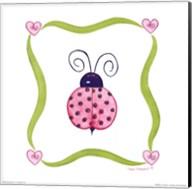 Lovebugs - Ladybug Fine-Art Print