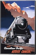 Canadian Pacific Train 1930 Fine-Art Print