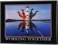 Motivational - Working Together Fine-Art Print