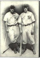 Dimaggio and Gehrig Fine-Art Print