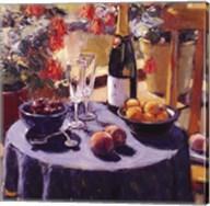 Blue Table Fine-Art Print