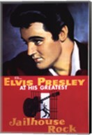 Jailhouse Rock Elvis Presley at his Greatest Fine-Art Print