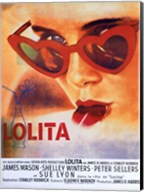 Lolita Heart Sunglasses Fine-Art Print