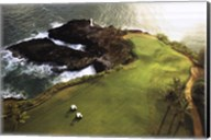 Golf Course, Hawaii Coast Wall Poster