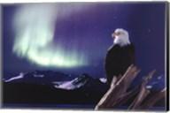 Eagle, Aurora Borealis Fine-Art Print